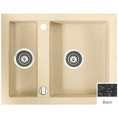 купить Кухонные мойки MARMORIN CIRE 2 bowl sink with draining board